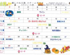 H30.10月ぬる湯スケジュール-1